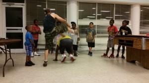 Carper o Angola, Martial Arts   Culture
